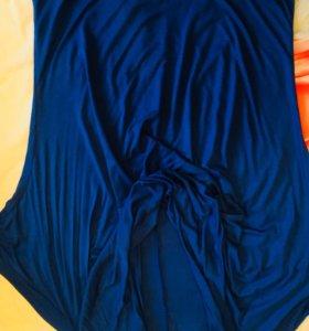 Туника синего цвета 50 размер