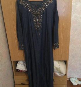 Джинсовая красивая турецкие платья