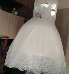 Платье для девочек 9-10 лет