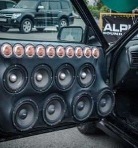 Авто электрик установка авто-звука