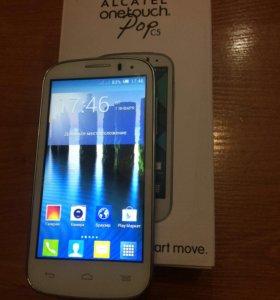 Телефон Alcatel One Touch POP C5