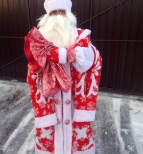 Прокат Костюм Деда Мороза ручной работы