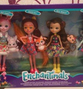 Набор куклы Enchantimals новый