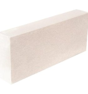 Блок газобетонный 100x250x625 мм