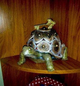 Черепаха-шкатулка