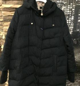 Зимняя куртка пуховик женский