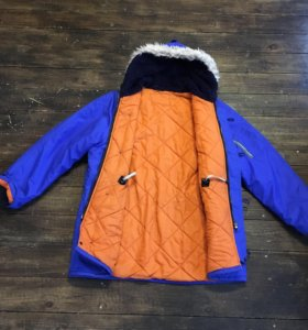 Alpha industries (blue/orange)