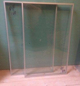 Дверцы ИКЕА стекло 2 шт