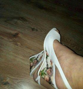 Туфли , натуральная кожа , размер 39