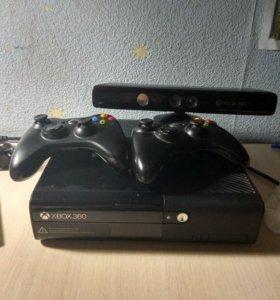 Xbox 360 E+ kinect