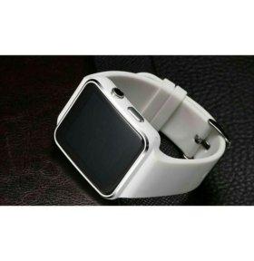 Стильные умные часы - телефон Smart Watch X6