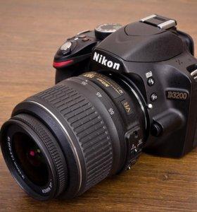 Никон Nikon d3200 полный комплект