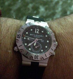 Часы Bvlgari DS 38S GMT, дайвер, оригинал