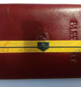 Обложка для паспорта кожаная tony perotti