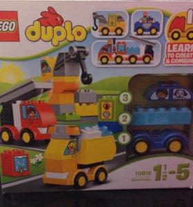 Lego duplo Лего новое мои первые машинки