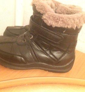 Ботинки зимние на мальчиков