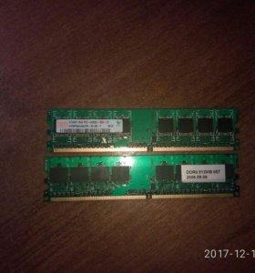 Оперативная память DDR 2 512мб