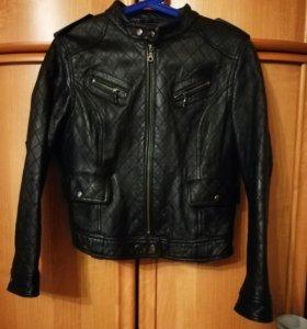 Куртка кожанная размер 44