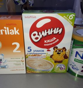 каши молочные Винни