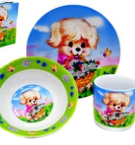 Детский набор посуды