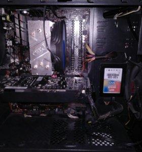 Игровой компьютер на базе AMD Ryzen5 1600X+GTX1060