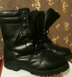 Берцы (ботинки) зимние натуральные 44 размер