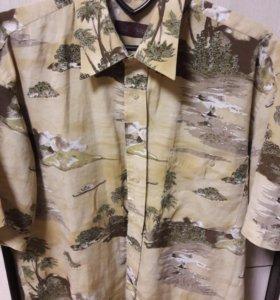 Гавайская рубашка 46-48 размера
