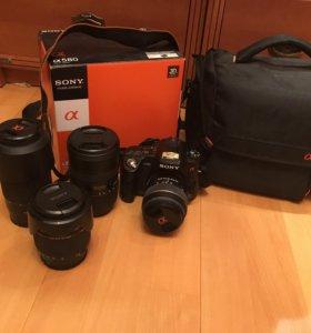 Фотоаппарат Sony a580