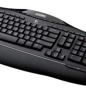 Клавиатура+Мышь Logitech Cordless Desktop MX 3200