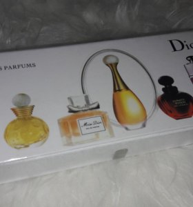 Подарочный набор парфюмерии DIOR 5в1