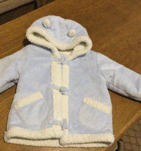 курточка зимняя на 1 год