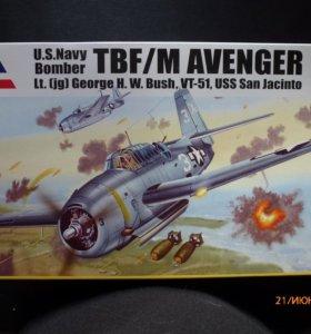"""Модель TBF-1C """"Avenger"""" Accurate Miniatures 1/48"""