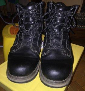 Ботинки зимние мужские Ecco р.43 б/у