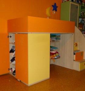 Детская спально-игровая зона. Произ-во Мистер Дорс