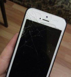Айфон 5, на запчасти