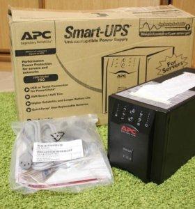 Новый ИБП APC smart-upc sua 750i