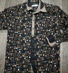 Рубашка мужская х/б