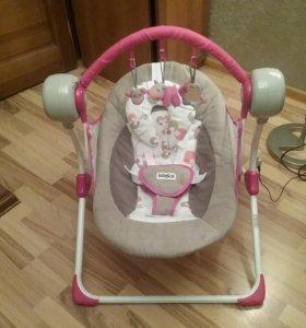 Кресло - качалка детские электронные Babyton