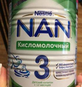 Смесь Nan 3 кисломолочная