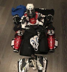 Полный комплект хоккейной формы