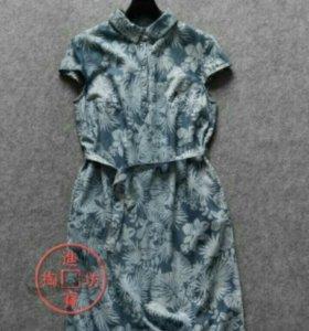 Джинсовое платье.Новое