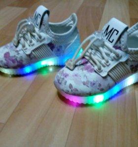 Мигающие кроссовки