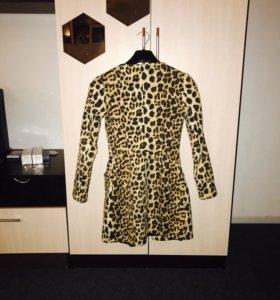 Леопардовые пальто