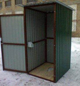 Туалеты с доставкой на участок