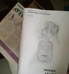 Молокоотсос ручной Avent philips