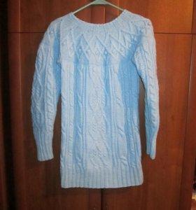 свитер ручная вязка