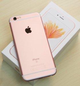 iPhone 6s Rose gold 128gb