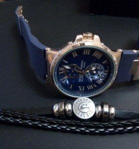 Часы U.N. + браслет Diesel