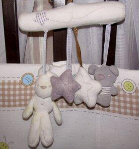 игрушки -подвесы в коляску (кроватку)