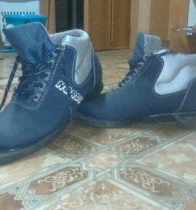 Лыжные ботинки 39 размер. М/Ж